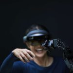 virtual reality and robot arm