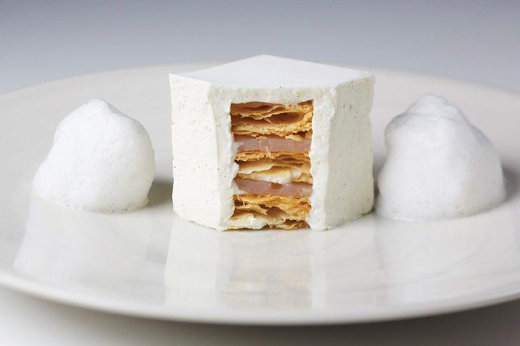 designer food at a London hotel
