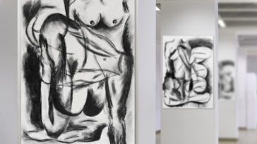 nude abstract drawings of a woman